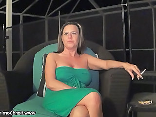 Smoking  Natural Cheating Wife Wife Milf
