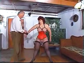 Mature lady has pierced nipples and pussy in some