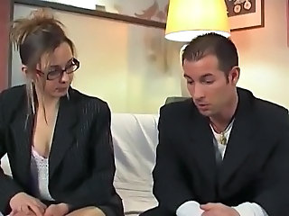 European French Glasses French Milf Housewife Milf Ass