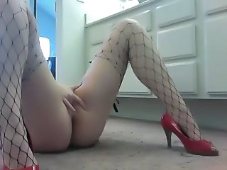 Fishnet Masturbating Orgasm Fishnet Masturbating Orgasm Masturbating Webcam