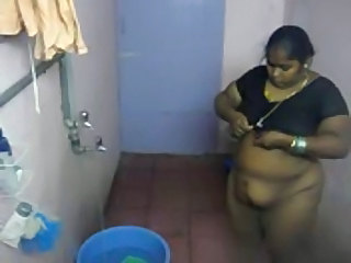Indian HiddenCam Maid Hidden Shower Indian Bbw