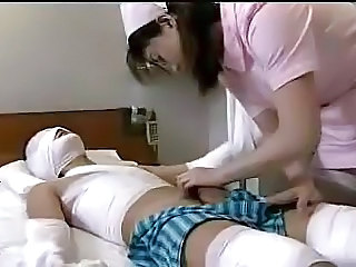 More2cum.com -  Japanese nurse cares
