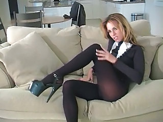 Babe Feet Fetish Babe Panty Foot Pantyhose
