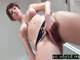 Masturbating Teen Masturbating Teen Polish Shower Masturb
