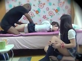 Forced Uniform Interracial Forced  Interracial Threesome