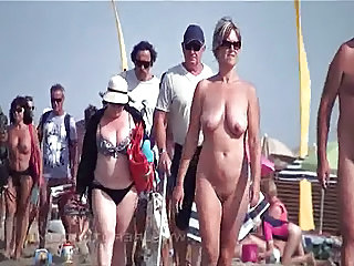Nudist Beach Public Nudist Beach Outdoor Outdoor Mature
