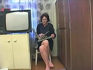 Old And Young Russian Mom Homemade Mature  Mom Son