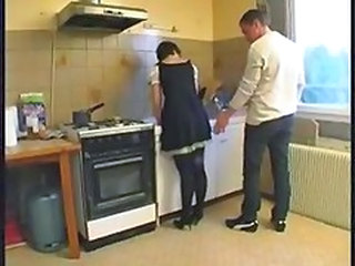 Uniform Kitchen Maid French French Anal French + Maid