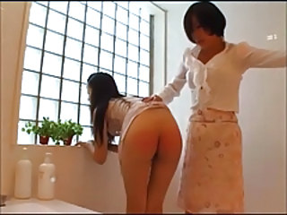 Spanking Bathroom Daughter Bathroom Bathroom Mom Daughter