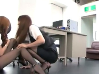 Japanese Office Lady Lesbians