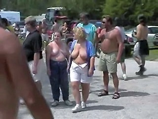 Fun At A Nudist Rally 20