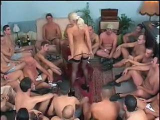 Bukkake Gangbang MILF Milf Stockings Stockings