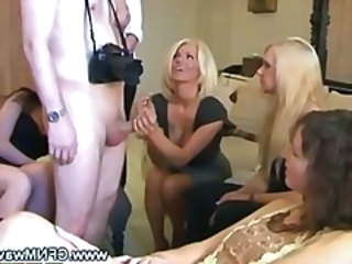 CFNM Handjob Party Cfnm Handjob Cfnm Party Dirty