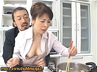 Kitchen Mature Japanese Asian Mature Japanese Mature Kitchen Mature