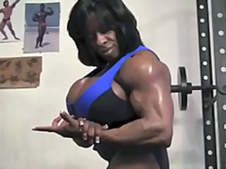 Muscled Ebony Sport Big Tits Big Tits Ebony