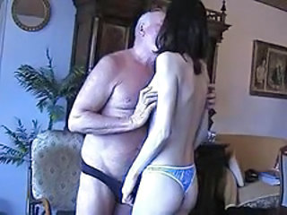 Old and Young Homemade Kissing Grandpa Homemade Blowjob Old And Young