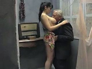 Video from: xhamster | Grandpa And Old Man Fuck Girl