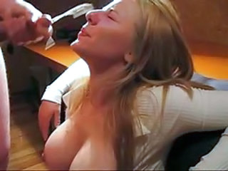 F60 Big Boobs Cum On Blondies Fa...