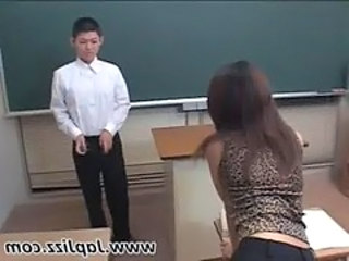 School Teacher Asian School Teacher Sperm Teacher Asian