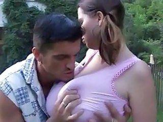 Pigtail Natural Big Tits Big Tits Teen Outdoor Outdoor Teen