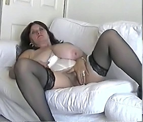 BBW Masturbating Stockings Amateur Big Tits Bbw Amateur Bbw Masturb