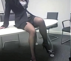 Secretary Office Legs Milf Office Milf Stockings Office Milf