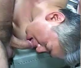 Mature Hairy Blowjob