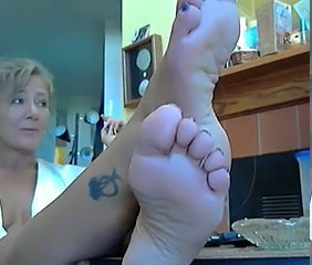 Feet Tattoo Fetish