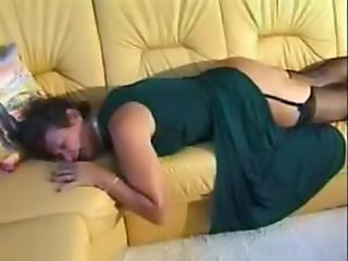 Sleeping Mature Amateur