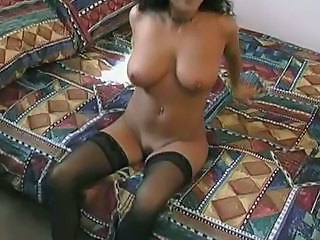 Casting Natural MILF Milf Stockings Stockings
