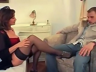 Amazing European German German Milf German Mom Milf Stockings