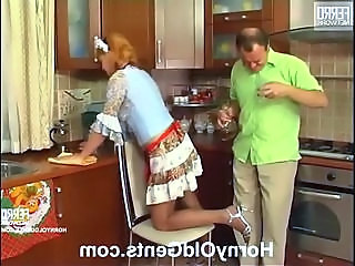 Daddy Maid Skirt Dad Teen Daddy Kitchen Sex
