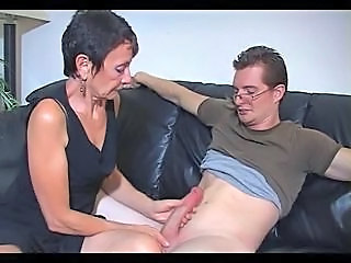 Mom Old and Young  Big Cock Handjob Big Cock Mature Handjob Cock
