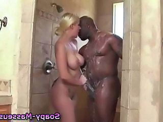 Showers Interracial Massage Ass Big Cock Ass Big Tits Big Cock Handjob