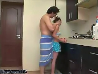 Russian Kitchen Teen Cumshot Teen Kitchen Teen Russian Teen