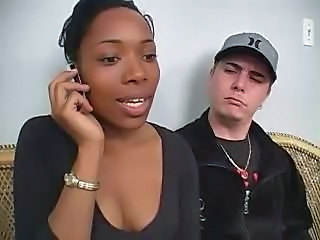 Ebony  Interracial Cheating Wife