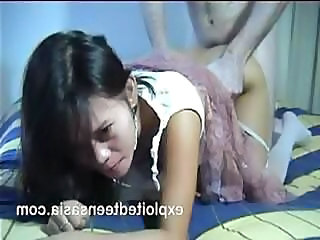 Filipina hooker Penelope gets a good boning from a white fella