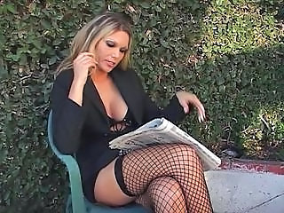 Fishnet Pornstar Amazing Fishnet Interview Milf Office