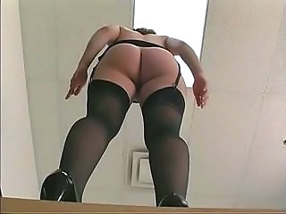 Secretary Ass Office Stockings