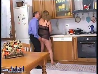 Lingerie Kitchen  Bbw Blonde Bbw Milf Bbw Wife