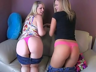 Heather And Tara make daddy cum!