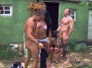 Blowjob Brazilian Groupsex Outdoor