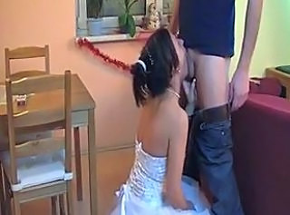 Blowjob Bride Bride Sex Wedding