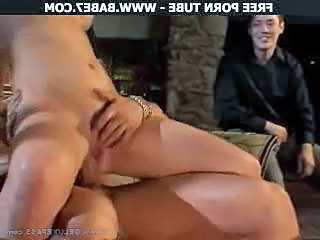 Cuckold busty wife hard ramming
