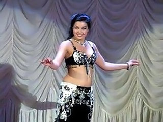 Alla Kushnir sexy Belly Dance part 4