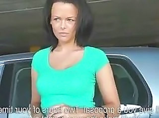Car Cash European MILF Czech European Babe Ass Erotic Massage