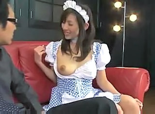 Maid MILF Uniform Lactation Milf Asian Milk