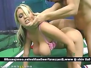 Doggystyle  Teen Blonde Teen Bus + Teen Doggy Busty