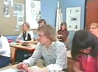 Vintage. Lesson in lust. Orgy in classroom (Camaster)