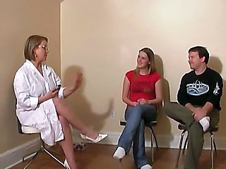 Doctor Uniform Glasses Cfnm Handjob Handjob Amateur Milf Ass